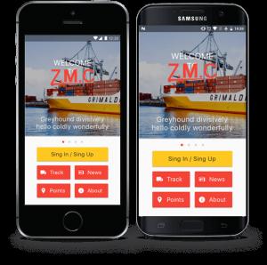 ZMC mobile app